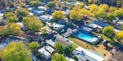lake vista community aerial